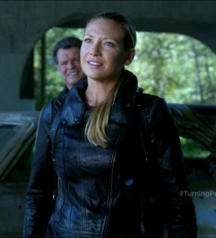 Fringe Olivia's leather jacket