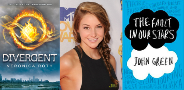 YA Movie Roundup - Divergent Shailene Woodley TFiOS