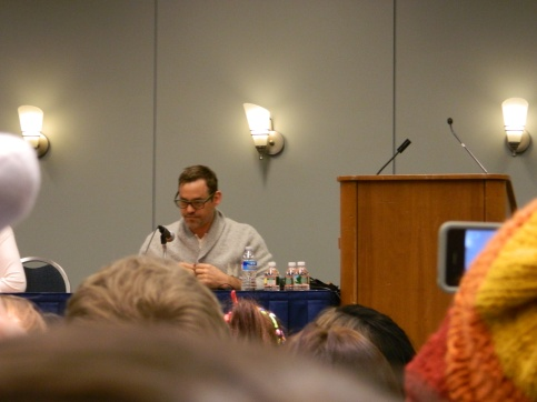 Nicholas Brendon before his Q&A