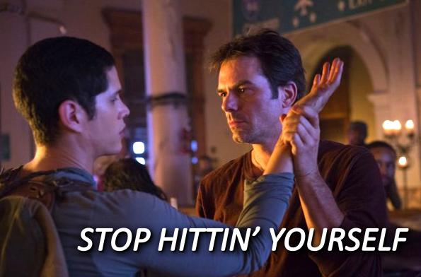 Revolution - Jason and Miles - Stop Hittin Yourself