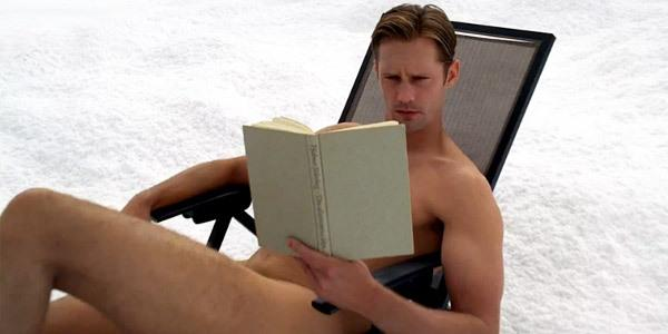 Eric reading naked True Blood 6x10